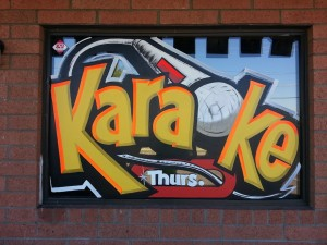 karaoke-sign-painting-WindowPainting.com